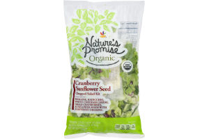 Nature's Promise Organic Chopped Salad Kit Cranberry Sunflower Seed