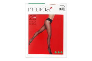 Колготки жіночі Intuicia Bikini LW 20den 3 vizone