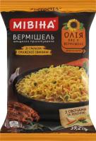 Вермішель швидкого приготування зі смаком смаженої свинини негостра Мівіна м/у 59.2г