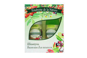 Tendresse de la Nature набір Для волосся (шампунь,350мл+бальзам,350мл)
