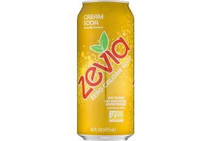Zevia Zero Calorie Soda Cream Soda