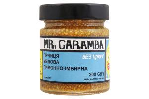 Гірчиця медова лимонно-імбирна Mr.Caramba с/б 200г