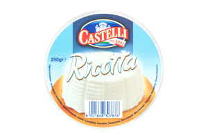 Сир 9% Ricotta Castelli ст 250г