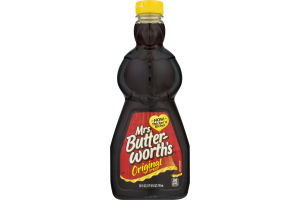Mrs. Butter-Worth's Syrup Original
