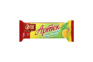 Вафли со вкусом лимона и лайма Артек Світоч м/у 80г