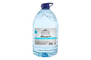 Вода питна негазована Карпатська джерельна високогірна Горянка п/пл 6л