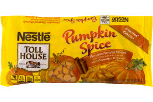 Nestle Toll House Pumpkin Spice Pumpkin Flavored Morsels