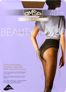 Колготки Omsa Beauty slim 40 утяжка caramello р.2