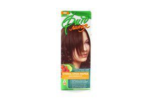 Крем-краска для волос Темный каштан №49 Фито линия