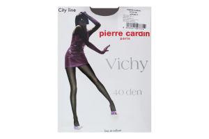 Колготки жіночі Pierre Cardin Vichy 40den 4 antilope