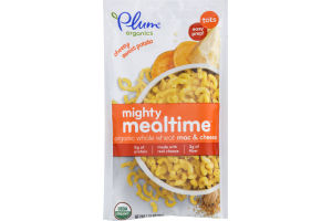 Plum Organics Mighty Mealtime Organic Whole Wheat Mac & Cheese Cheesy Sweet Potato