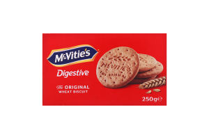 Печенье пшеничное Digestive McVitie's к/у 250г