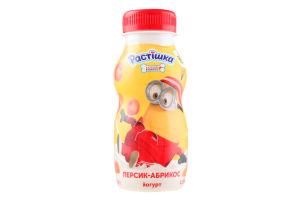 Йогурт 1.5% Персик-Абрикос Растішка п/пл185г