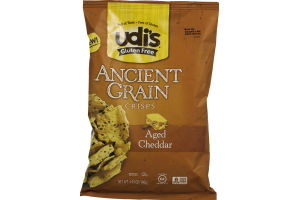 Udi's Ancient Grain Crisps Aged Cheddar