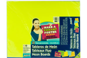 ArtSkills Neon Boards - 5 CT