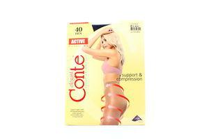 Колготы женские Conte Active 40den 2-S nero
