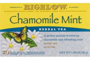 Bigelow Chamomile Mint Herbal Tea - 20 CT