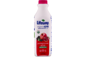 Lifeway Organic Kefir Cultured Lowfat Milk Pomegranate Acai Probiotic
