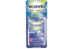 Nicorette Gum 4mg White Ice Mint - 20 CT