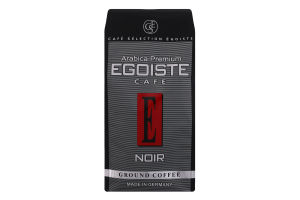 Кава натуральна середньообсмажена меленa Noir Egoiste cafe м/у 250г