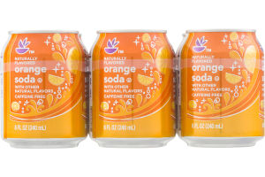 Ahold Orange Soda - 6 CT