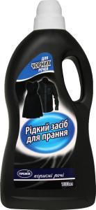 Средство жидкое Премія для стирки черных тканей