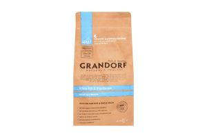 Корм для собак Grandorf белая рыба с рисом сухой
