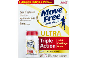 Move Free Joint Health Ultra Triple Action Coated Tablets - 75 CT
