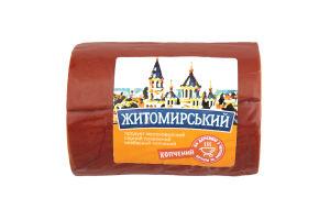 Продукт сырный 40% плавленный копченый Житомирский кг