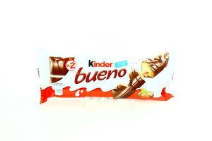 Вафли с молочно-ореховой начинкой Kinder Bueno м/у 2х21.5г