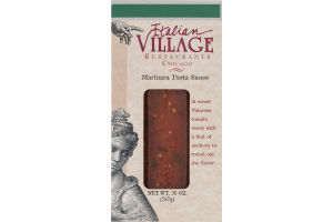 Italian Village Restaurants Chicago Marinara Pasta Sauce
