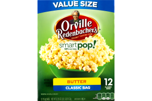 Orville Redenbacher's Smartpop! Butter Classic Bag - 12 CT