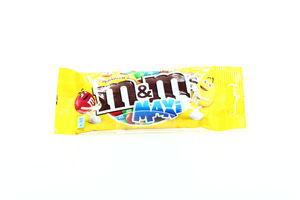 Драже с арахисом и шоколадом в глазури Maxi M&M's м/у 70г