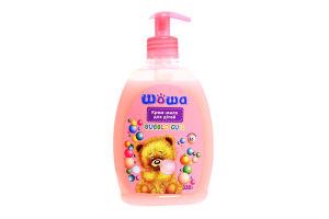 ШОША крем-мило рідке д/дітей Bubble Gum 330г