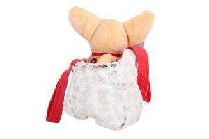 Іграшка для дітей від 3років №СО-0102 Собачка чихуахуа коричнева з сумочкою в сукні Tigres 1шт