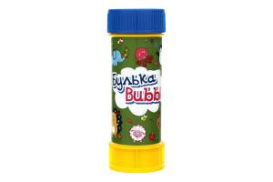 Мыльные пузыри для детей от 3лет №BB-08 Булька Bubble 60мл