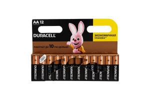 Батарейки AA LR6 MN1500 Duracell 12шт