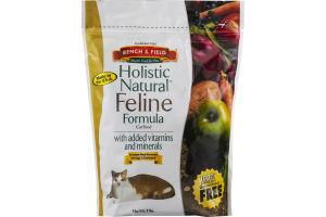 Bench & Field Holistic Natural Feline Formula Cat Food Chicken Meal Formula