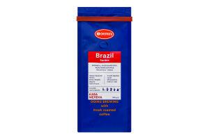 Кофе натуральный жареный молотый Brazil Santos Gemini м/у 250г