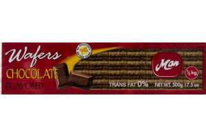 Man Wafers Chocolate
