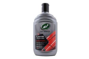 Полироль Ceramic polish&wax Hybrid solutions Turtle Wax 500мл