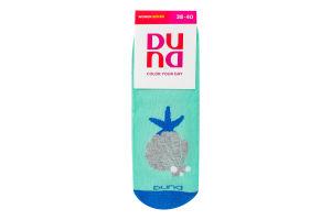 Шкарпетки жіночі Duna №3127 23-25 морська хвиля