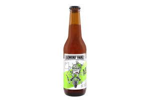 Пиво 5% 0.33л полутемное нефильтрованое непастеризованое Abbey Brewers' Family бут