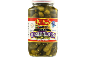 Bell-View Kosher Midgets Dill