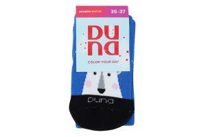 Шкарпетки жіночі Duna №3099 21-23 синій