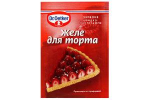Желе для торта красное Dr.Oetker м/у 8г