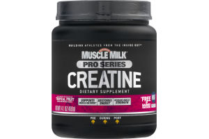 Muscle Milk Pro Series Creatine Dietary Supplement Tropical Fruit