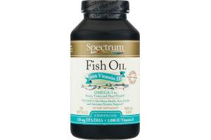 Spectrum Essentials Fish Oil With Vitamin D 1000 mg Softgels - 250 CT