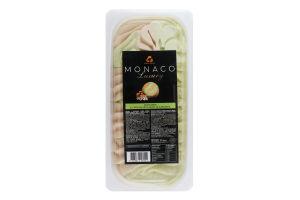Морозиво 10% зі смаком фісташки та карамелі Luxury Monaco Три ведмеді п/у 2.5кг