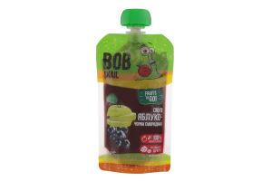 Пюре фруктовое Смузи Яблоко-черная смородина Bob Snail д/п 120г